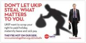 Trade Union groups have attacked UKIP for advocating scrapping employment rights