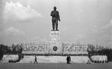 The Stalin Monument in 1953
