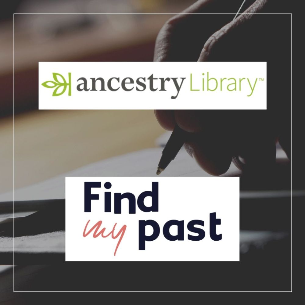 Accessing Ancestry and Find My Past from home