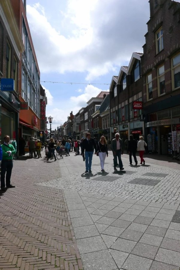 Alkmaar shopping street