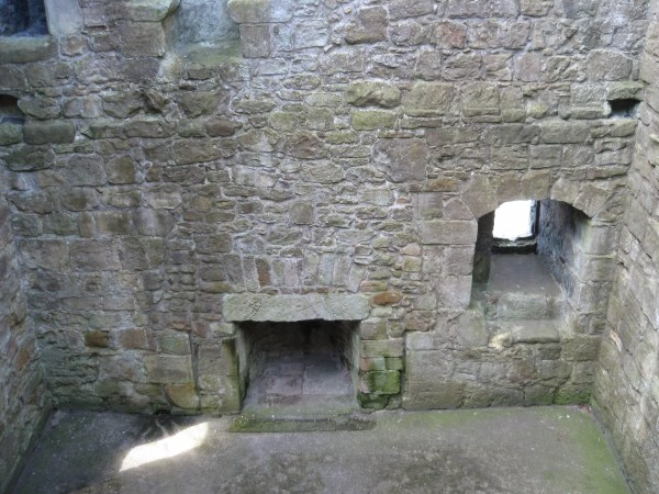 Loch Leven interior scotland castle