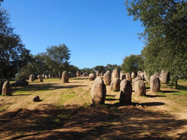 Almendres megalith in Portugal