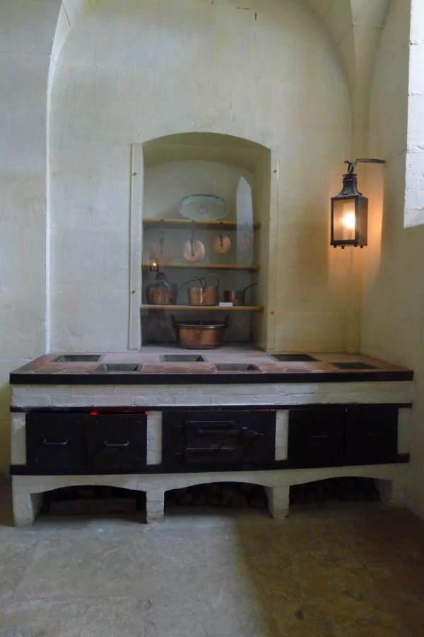 Petit Trianon warming kitchen