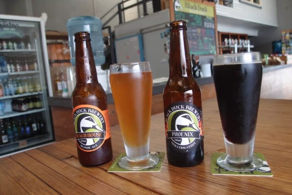 Black Duck Brewery beers