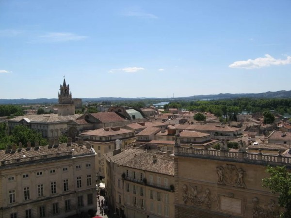 view from Palais des Papes, Avignon