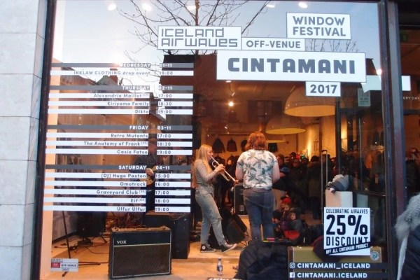 Omotrack - Cintamani Iceland airwaves 2017