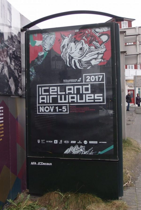 Iceland Airwaves music festival poster