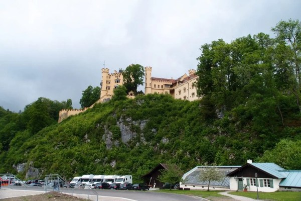 view of Hohenschwangau castle