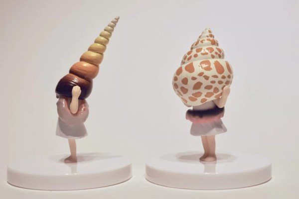 snail head girl gashapons