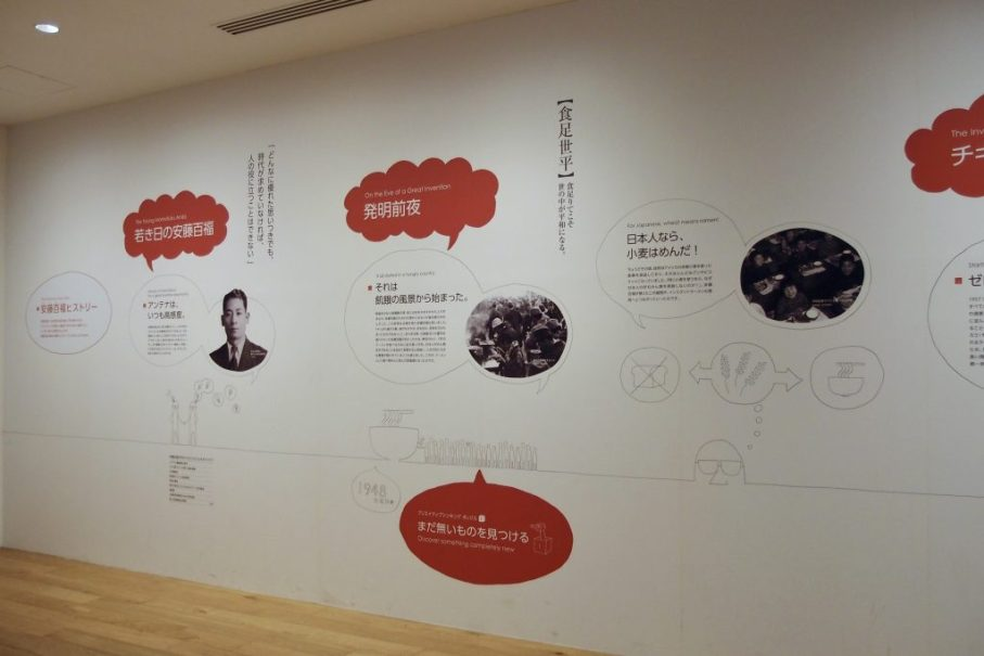 Cup Noodles Museum panorama wall