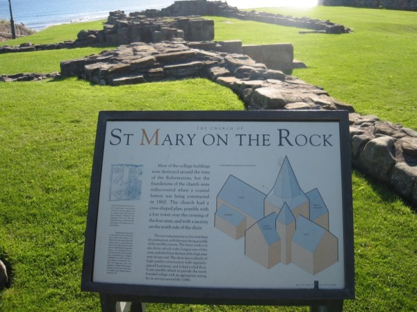The Church of St Mary on the Rock, Scotland