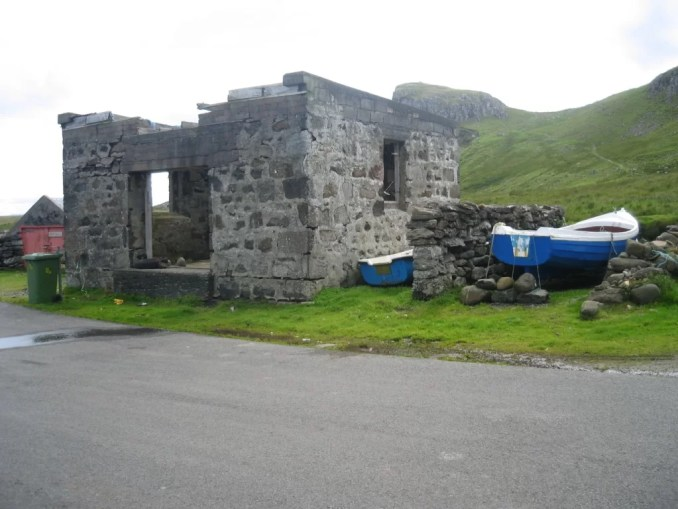 old storehouse, Bay of Seals