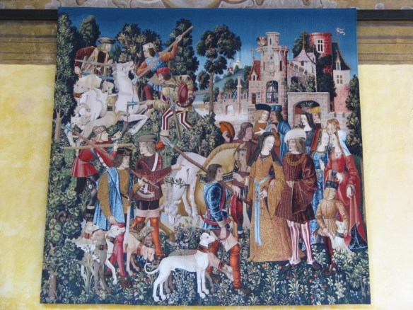 Stirling tapestry, Hunt of the Unicorn