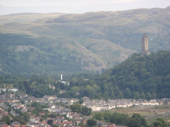 National Wallace Monument from a distance