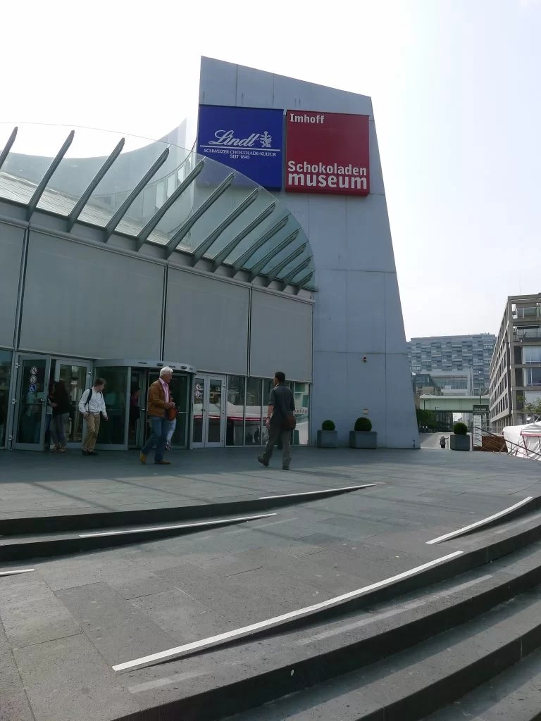 Exterior of the Lindt Chocolate Museum in Cologne