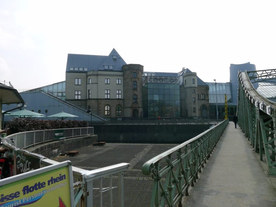 Lindt Chocolate Museum from across the Rhine