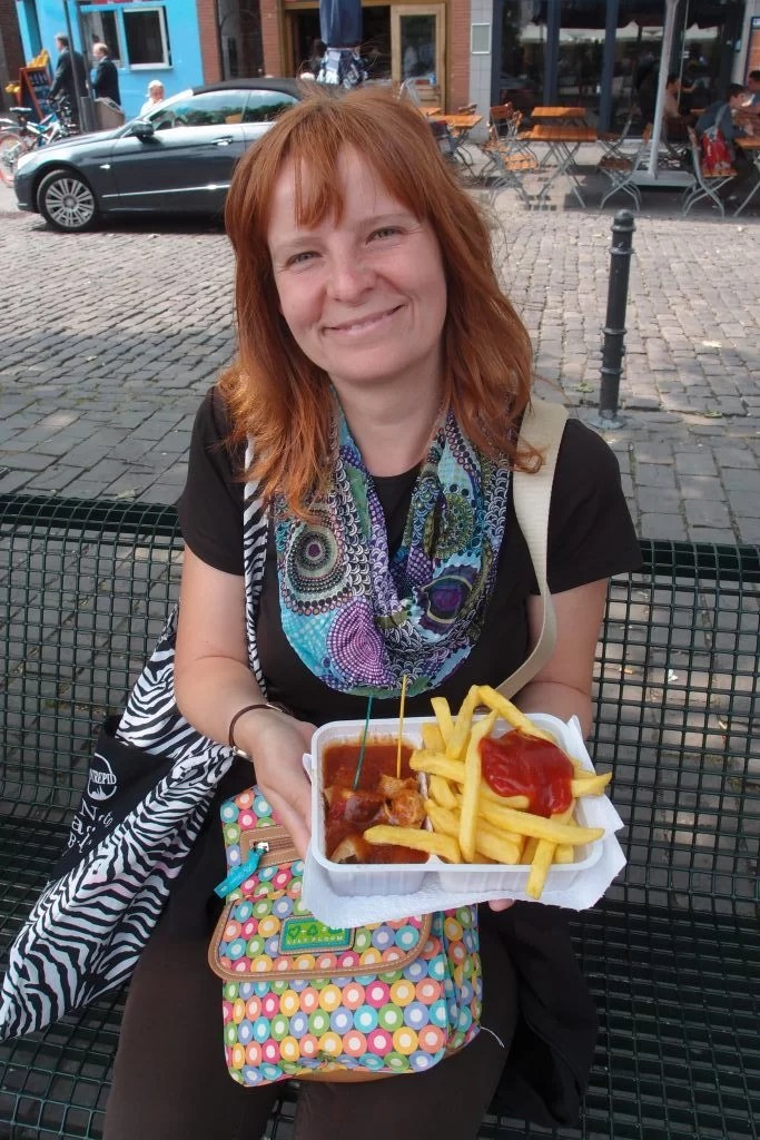 Currywurst in Cologne Germany