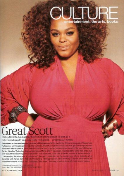 Jill Scott Big Curly Afro Black Hairstyles