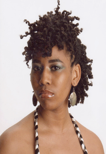 Cute Two Strand Twist Updo Natural Hair