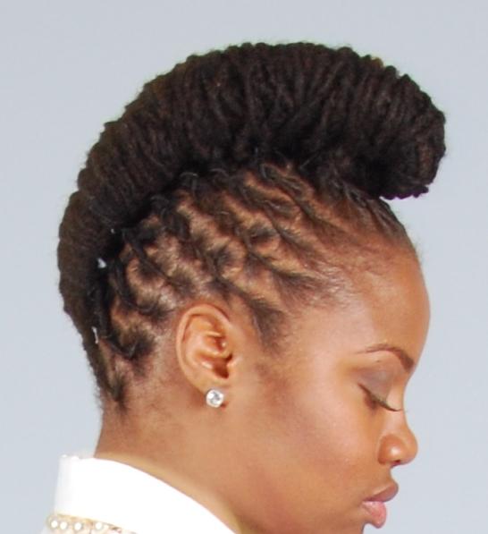 Natural Hair Locs For Wedding Black