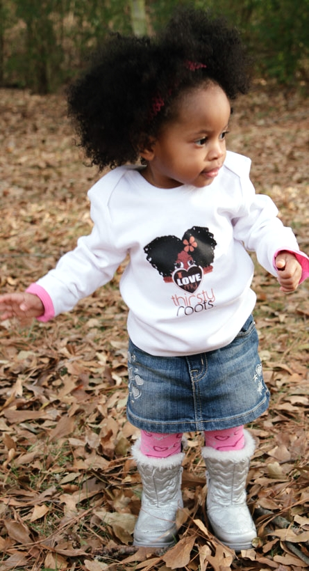 Natrual Afro Baby Black Hairstyles