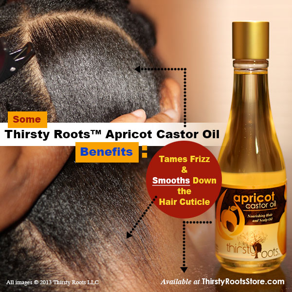 Tame Frizz And Smooth Hair With Apricot Castor Oil
