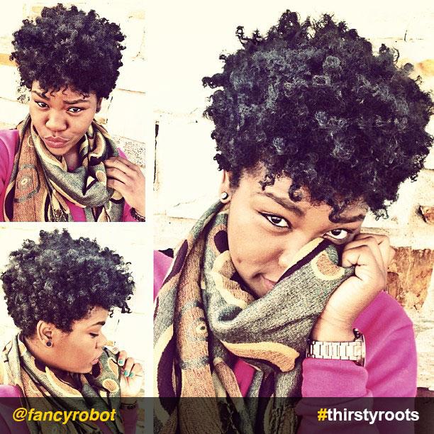 Natural Cropped Hair