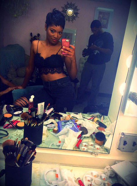 Keke Palmer Short Haircut