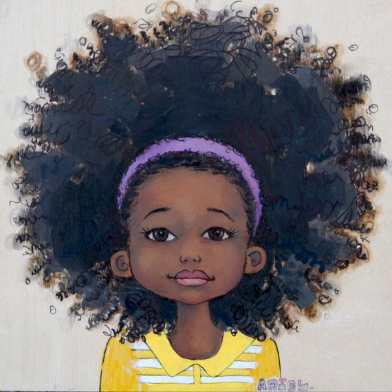 Image result for young black girl painting