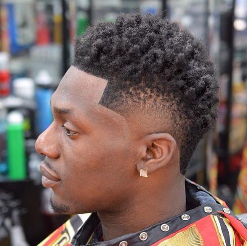 Mohawk Twist Sponge Black Hairstyles