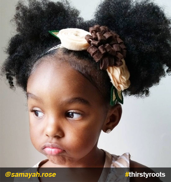 puff-ponytails-natural-hairstyle-for-little-girls