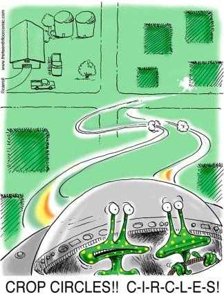 Alien Crop Circles Gifts