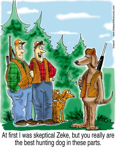 Zeke the Best Hunting Dog Gifts