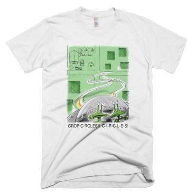Alien Crop Circles T-Shirts and Garments