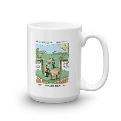 double zero ranch coffee mug 15oz