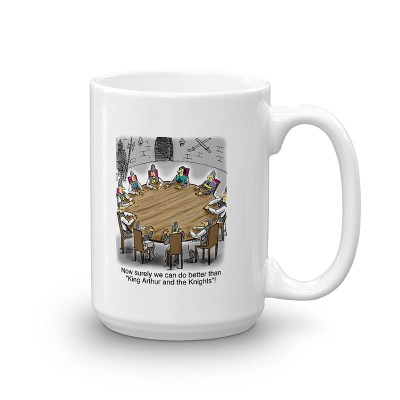 king arthur knights round table coffee mug 15oz