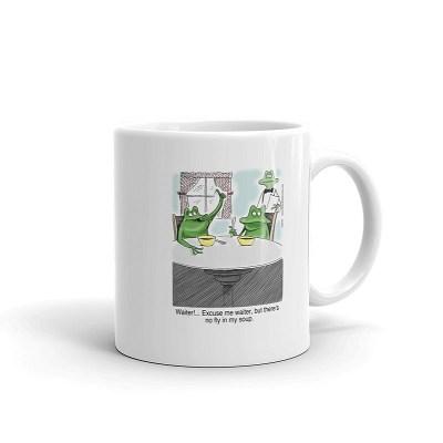 waiter no fly in my soup coffee mug 11oz
