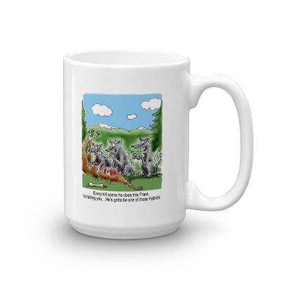 wolf hybrid coffee mug 15oz