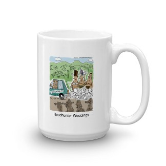 headhunter weddings coffee mug 15oz