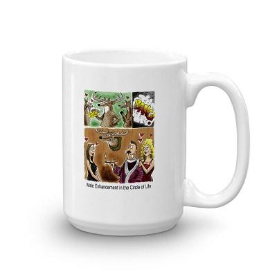 antler extenze addict coffee mug 15oz