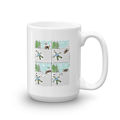 search rescue dog coffee mug 15oz