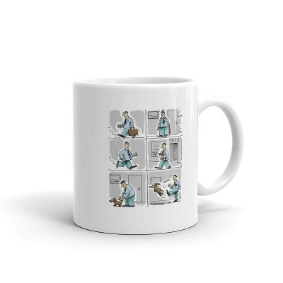 kick the dog coffee mug 11oz