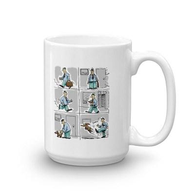 Kick the Dog Coffee Mugs