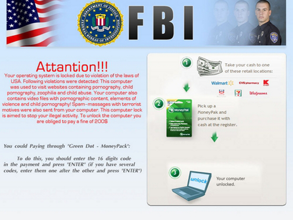 FBI Attantion Virus