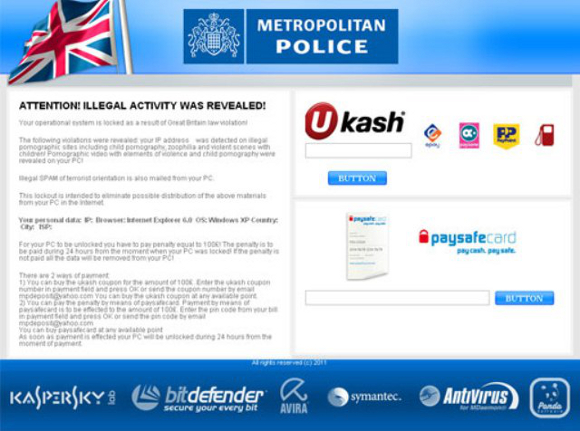 Metropolitan Police Attention Illegal Activity Was Revealed Virus