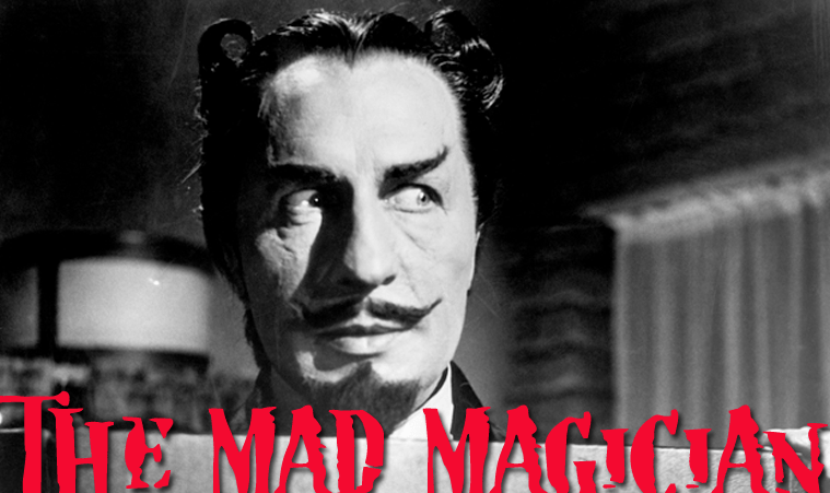 The Mad Magician, starring Vincent Price