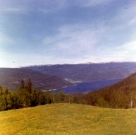 View from Husevollvegen 1962