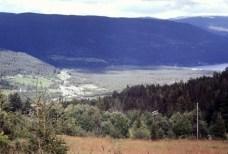 View from Husevollvegen 1967