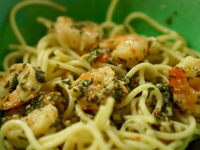 An Easy Way to Make Shrimp Scampi