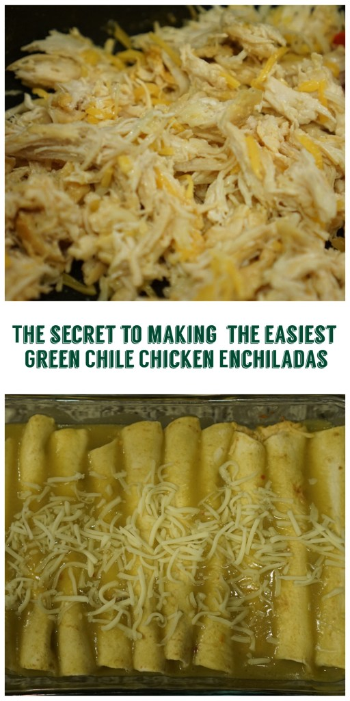Secret to Easy Chicken Enchiladas